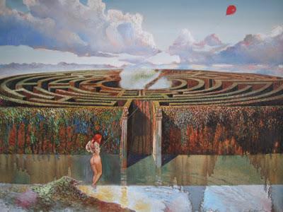 filoArianna Labirinto Minotauro Teseo